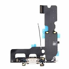 White Headphone Audio Dock Connector Charging USB Port Flex Cable iPhone 7 4.7""