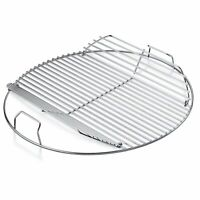 Weber Hinged Replacement Cooking Grate 22-1/2in Heavy-Duty Steel Charcoal Grill