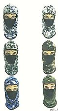 CAMOUFLAGE FULL FACE MASK OUTDOOR SPORTS HUNTING SUN PROTECTION