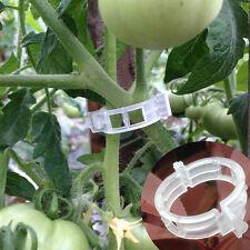 20 Pcs Plant Vine Tomato Stem Plant Clips Supports Connect Trellis Twine Cages