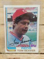 1982 Topps TOM SEAVER Cincinnati Reds Baseball Card #30 HOF