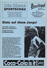 Bayernliga 89/90 TSV 1860 München - SpVgg Starnberg, 06.04.1990