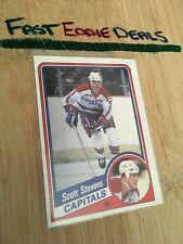 TOPPS HOCKEY 1984 SCOTT STEVENS CARD 149 WASHINGTON CAPITALS EXCELLENT