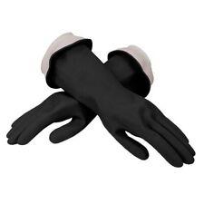 Casabella Premium WaterBlock Latex Black Dishwashing Gloves - Small Medium Large