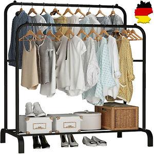 Kleiderständer Wäscheständer Garderobenständer Kleiderstange Ständer 1 Ablage