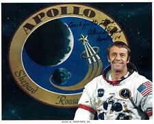 Apollo 14  Alan Shepard  Signed WSS Lithograph