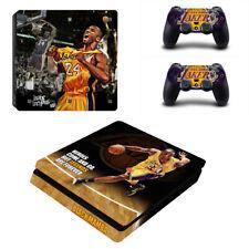 PS4 Slim Pro Kobe Bryant Lakers Vinyl Skins Calcomanías Adhesivas controlador de consola