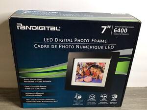 """Pandigital 7"""" LED Digital Frame New Never Used Open Box"""