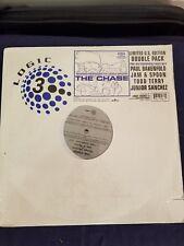 """Giorgio Moroder vs Jam & Spoon - The Chase 2x12"""" Logic 3000 Oakenfold 2000"""