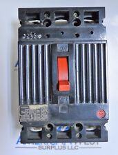 THED126015 GE THED 2 pole 15 amp 600 volt in 3P Frame Circuit Breaker TESTED