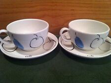 Royal Doulton PEARS CAFE -  2 Cups & Saucers