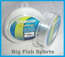 SEAGUAR FLUORO PREMIER Fluorocarbon Leader 40lb/ 25yd NEW! #40FP25 FREE US SHIP!
