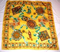 Valentini Gorgeous Foretell Symbols Design 100% Silky Polyester, Made in Italy!