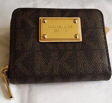 Michael Kors Bi-fold MK signature wallet