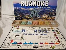 Roanoke The Star City Game (1997) RARE Signed By The Creators Monopoly like