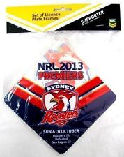 SYDNEY ROOSTERS NRL 2013 PREMIERS TEAM SUCTION CUP CAR WINDOW SIGN