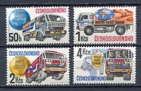 33329) Czechoslovakia 1989 MNH Paris-Dakar Rally 4v