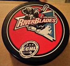 Arkansas River Blades Hockey ECHL Puck Rare