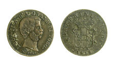s278_25)  Toscana Leopoldo II di Lorena (1824-1859) 10 Paoli 1858