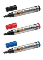 BIC Permanent Marker Pen 2300 (THICK) BLACK / BLUE / RED