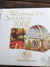 Hutschenreuther Porzellan Weihnachts-Spieldose 2002, Design Ole Winther, sammeln