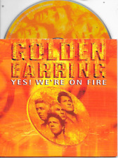 GOLDEN EARRING - Yes! We're on fire CD SINGLE 2TR Dutch Cardsleeve 2000 (CNR)