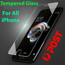 Tempered Glass Screen Protector iPhone 11 PRO Max XR X XS 7 6s 8 plus SE 4 5 rju