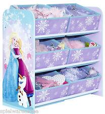 Disney Frozen Regal Kindermöbel Kinderregal Spielzeugkiste Eiskönigin 471FRN
