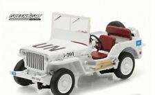 Greenlight 1/43 pressofuso 1941-1945 WILLYS MB JEEP UN United NAZIONI BIANCO