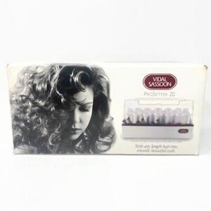 🔴 Vidal Sassoon VS321 ProSetter 20 Ribbed Roller Hairsetter New Open Box