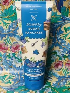 Bath & Body Works Blueberry Sugar Pancakes Body Cream