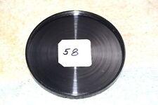 GENERIC THREAD-ON LENS CAP ANODIZED ALUMINUM 58 mm female