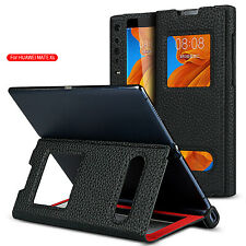 Leather Phone Case Folding Stand Protective Cover Skin Holder for Huawei Mate XS