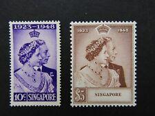 SINGAPORE - 1948 RSW SET - FINE MINT