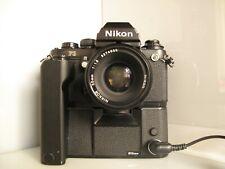 Nikon F3 35mm Camera - Black nikkor 50 mm f1,8 motordrive