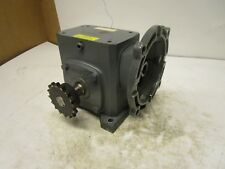 BOSTON GEAR F718B60TB5GT1 60:1 RIGHT ANGLE GEARBOX SPEED REDUCER 440 IN/LB