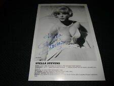 "STELLA STEVENS signed Autogramm ""ELVIS PRESLEY - GIRLS! GIRLS! GIRLS!"" InPerson"