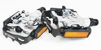 VP VP-131 Mountain MTB Bicycle Bike Clipless Pedals w/Cleats for Shimano SPD