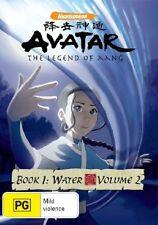 Avatar - The Last Airbender - Water : Book 1 : Vol 2 (DVD, 2007)