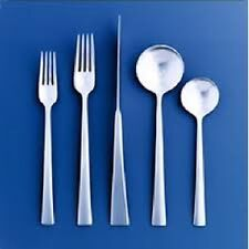 DANSK RONDURE 43pc piece Service for 8 Stainless Flatware Set NEW