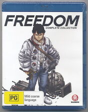 Freedom - Series Collection (Blu-ray, 2006, 2-Disc Set) [New/Sealed]