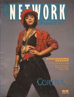 JULY 5 1991 THE NETWORK FORTY music magazine CORINA