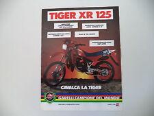 advertising Pubblicità 1984 MOTO GARELLI TIGER XR 125