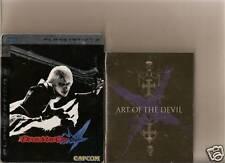 Devil May Cry 4 Coleccionistas Playstation 3 PS3 Libro De Acero