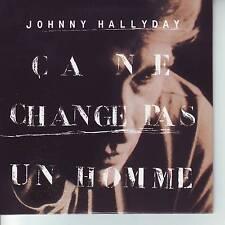 CD 3 titres JOHNNY HALLYDAY *** CA NE CHANGE PAS UN HOMME   n°224