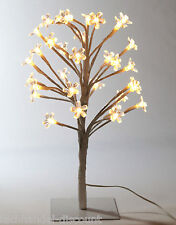 Design Licht Objekt LED Baum,32 Led`s, Innen & Aussen,indirektes Licht,Blüten(W)