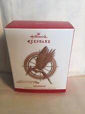 2013 HUNGER GAMES MOCKINGJAY pin Hallmark limited CHRISTMAS ORNAMENT New in box