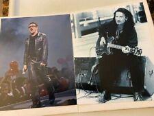 """Bono (U2) 8"""" X 10"""" Photos Rare - Lot Of 2!"""
