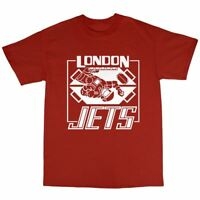 London Jets T-Shirt 100% Premium Cotton Red Dwarf Inspired Lister Rimmer
