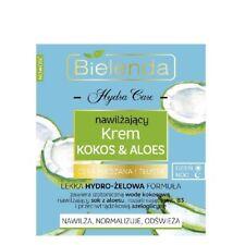 Bielenda COCONUT & ALOE Moisturising Day Night Cream Combination Skin 50ml